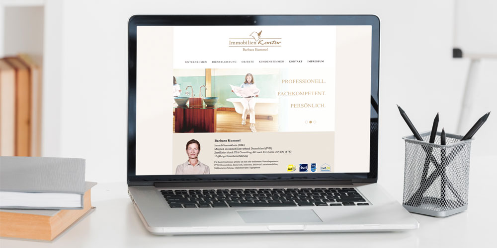 Referenz Website Kummel