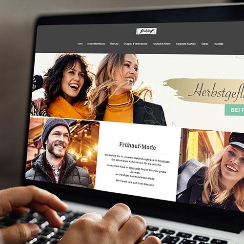 Referenz Website Frühauf Herbst